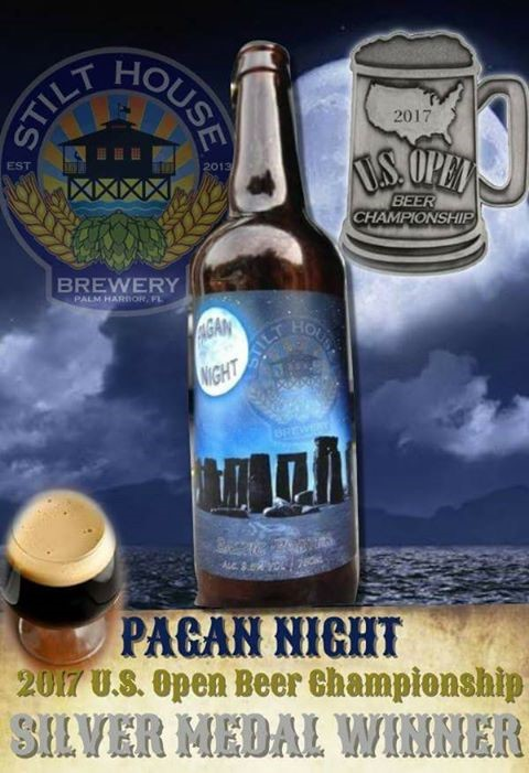 Pagan Night 2017 US Beer Open Championship Silver Medal Winner