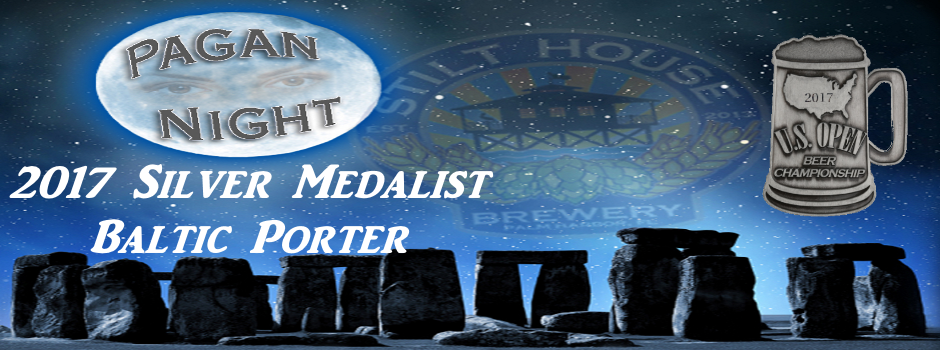 Pagan Night Baltic Porter Silver Medalist